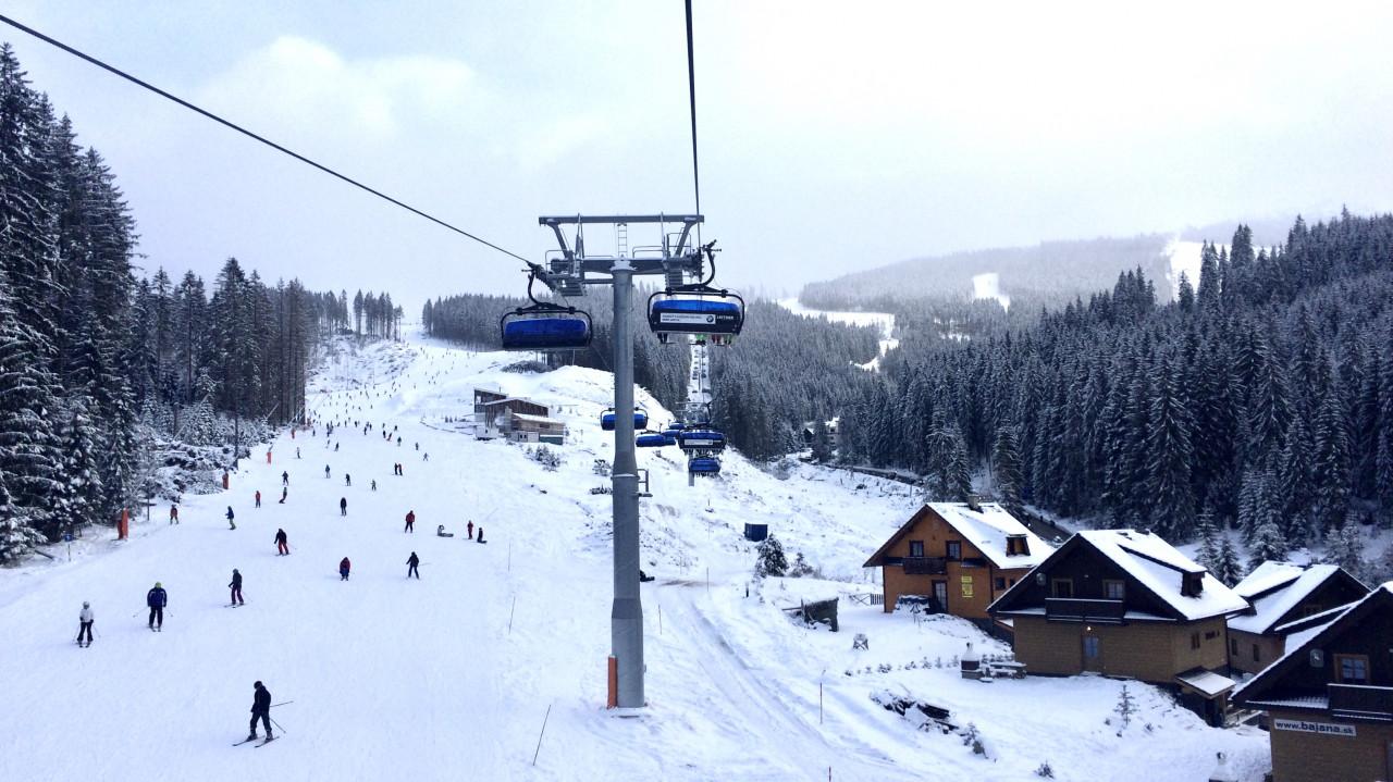 Chopok - Sylwester na nartach