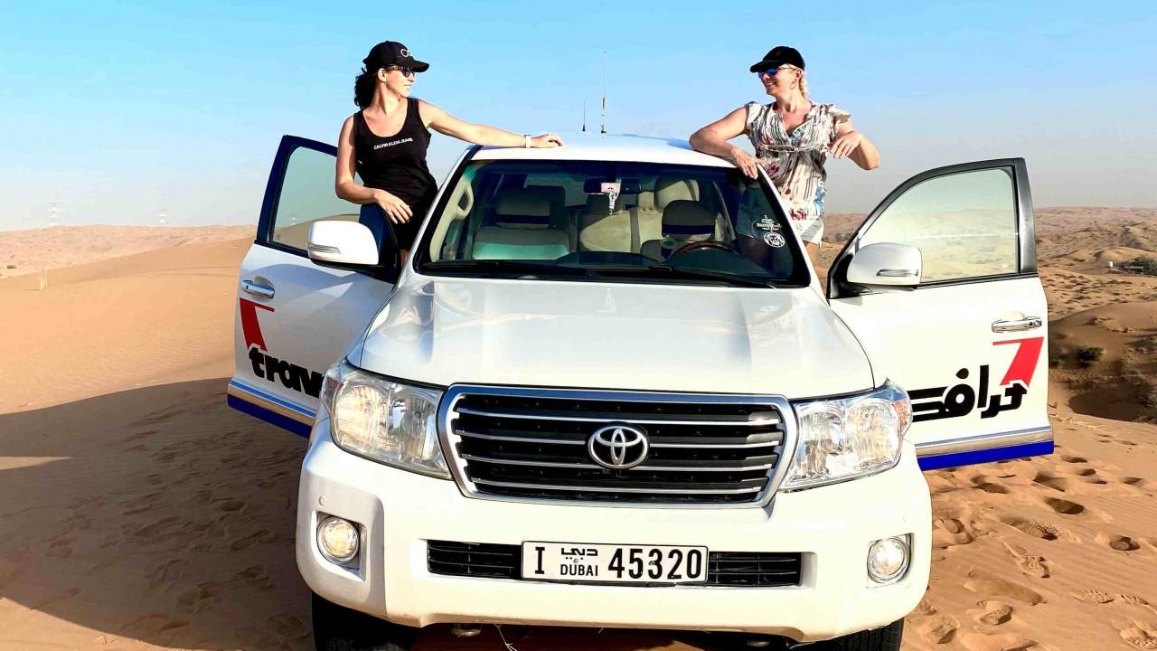 4x4 off road - safari po piaskach pustyni
