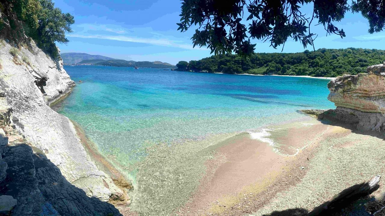 Korfu - najpiękniejsze plaże północnego wybrzeża