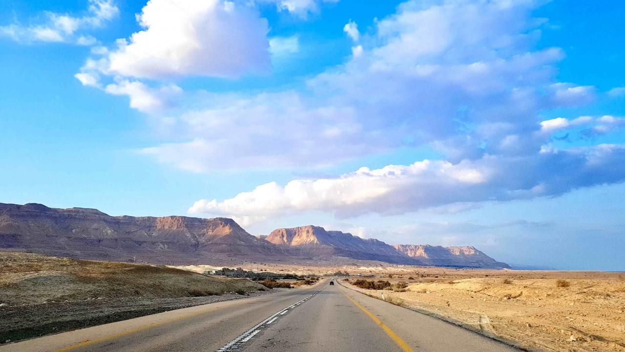 Ziemia Święta - Morze Martwe, Masada & Qumran
